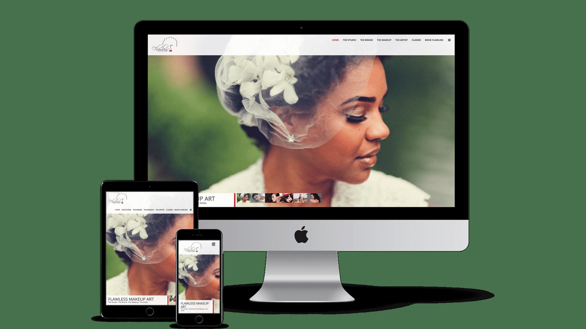 The Urban Geeks - Flawless Makeup Art Website